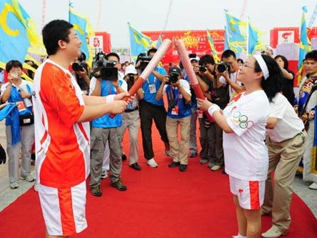 Olympic torch relay starts in Chifeng